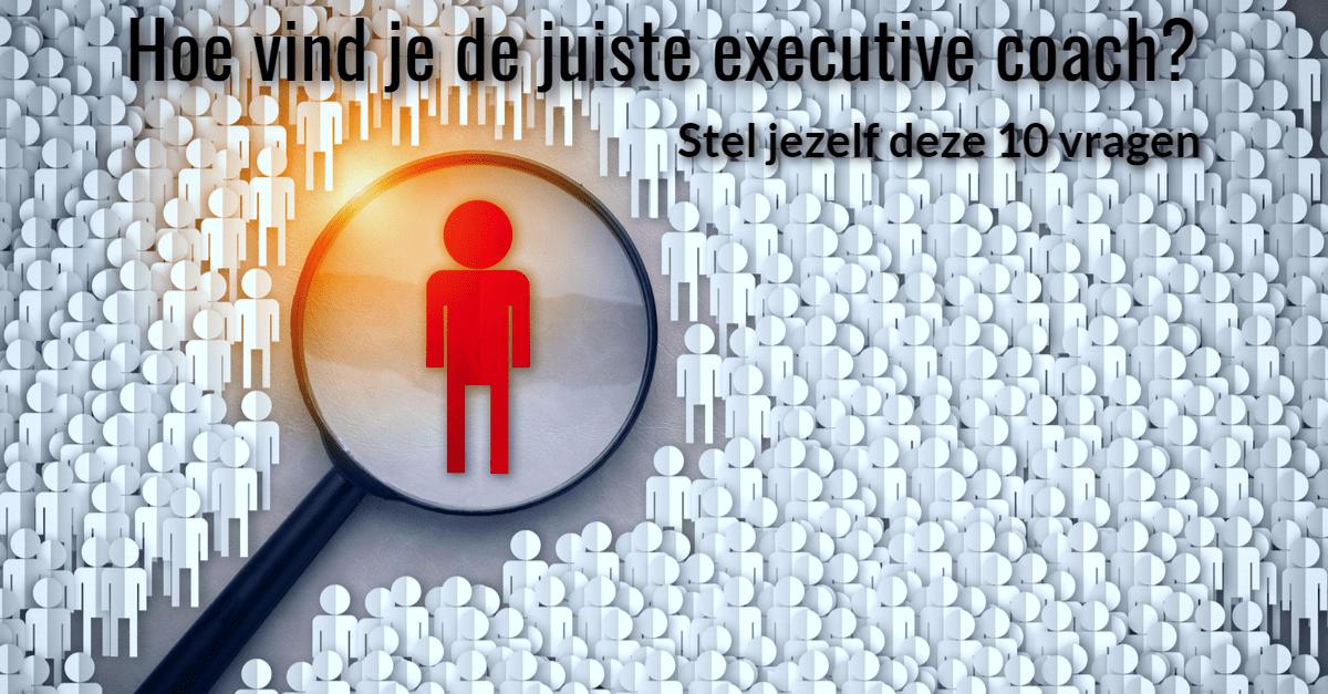 effectieve executive coach