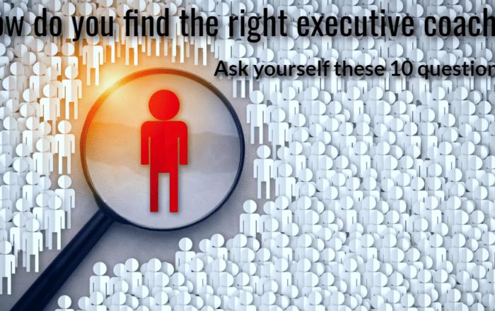 Effective executive coaching